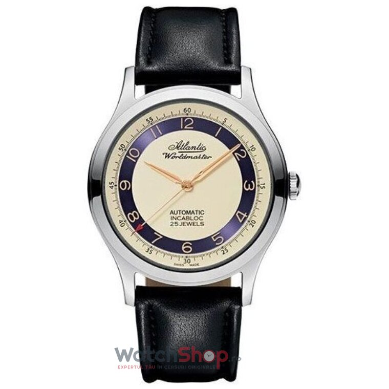 Ceas Atlantic WORLDMASTER ORIGINAL 53754.41.93R de la Atlantic