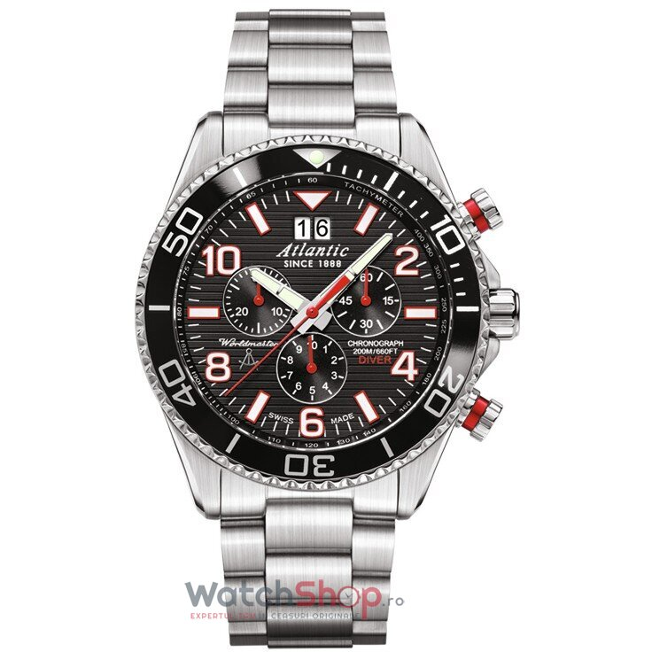 Ceas Atlantic WORLDMASTER DIVER 55475.47.65R de la Atlantic