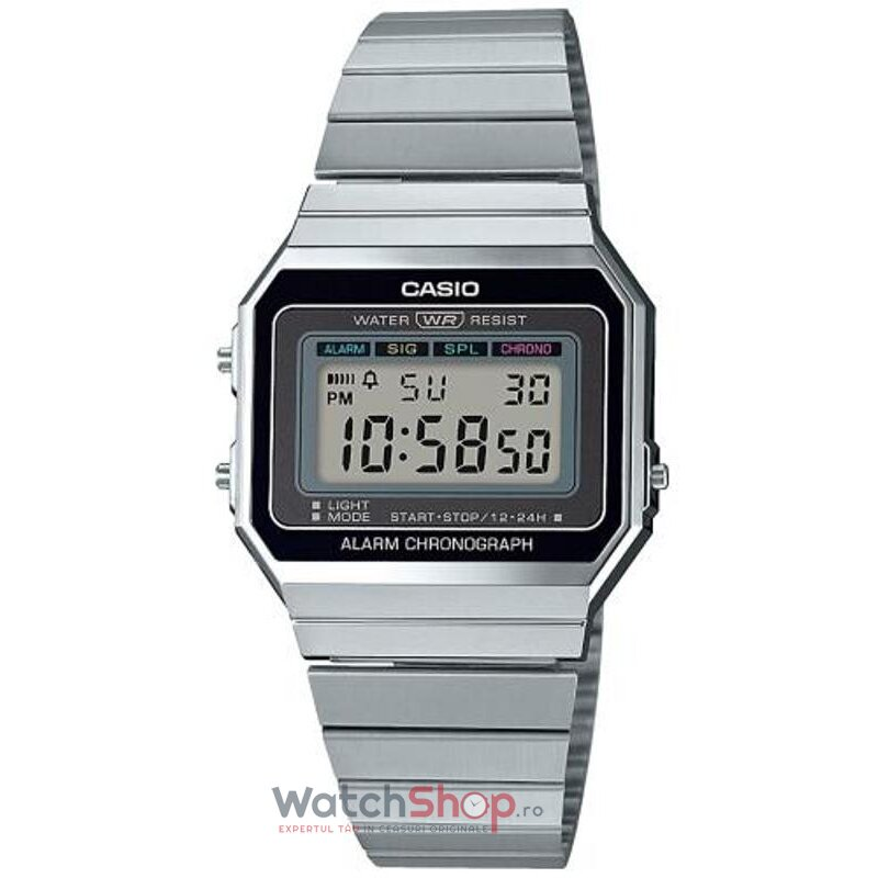 Ceas Casio RETRO A700WE-1AEF de la Casio