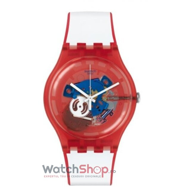 Ceas Swatch ORIGINALS SUOR102 Clownfish Red