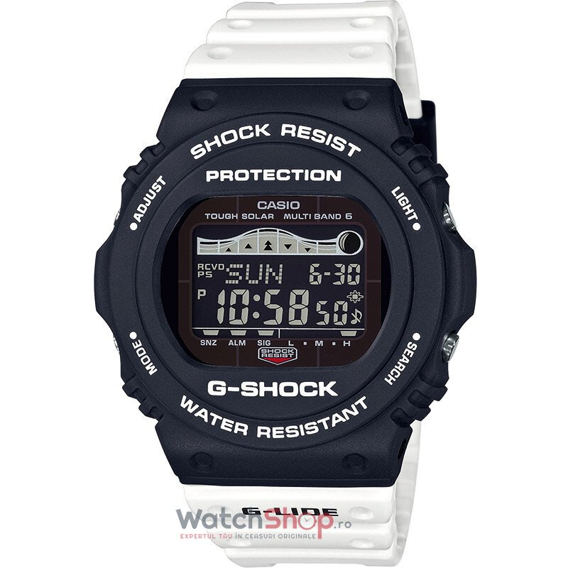 Ceas Casio G-SHOCK GWX-5700SSN-1ER G-Lide MultiBand 6 Tough Solar