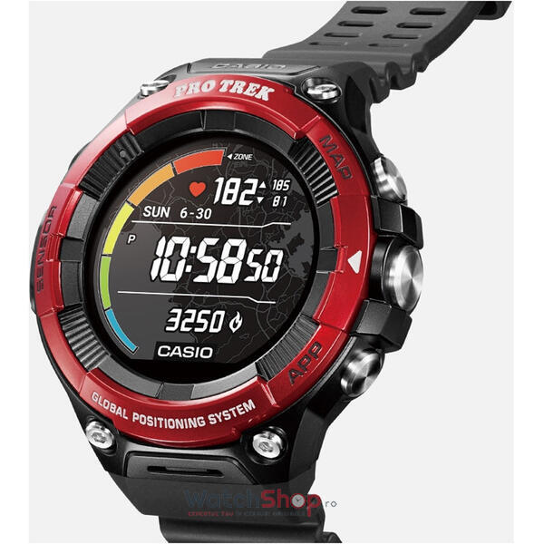 SmartWatch Casio PRO TREK WSD-F21HR-RDBGE