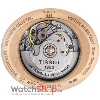 Ceas Tissot T-GOLD T917.307.76.113.00 Glamorous Automatic