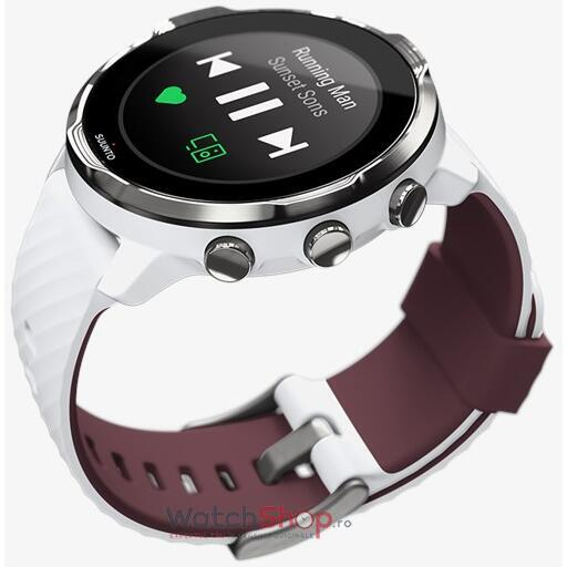 SmartWatch Suunto 7 WHITE BURGUNDY SS050380000