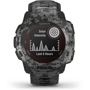 SmartWatch Garmin INSTINCT SOLAR 010-02293-05 Graphite Camo Edition