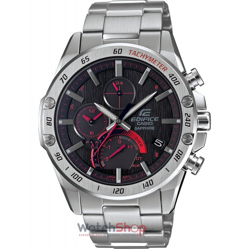 Ceas Casio EDIFICE EQB-1000XD-1AER Bluetooth® Smart Cronograf