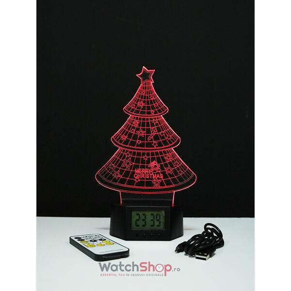 WatchShop Lampa led 3D CHRISTMAS TREE