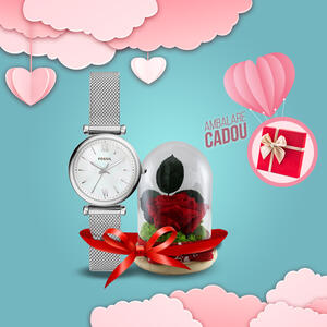 WatchShop SET CADOU LOVE