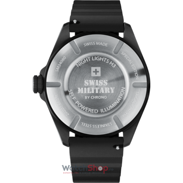 Ceas Swiss Military by Chrono NIGHT LIGHTS H3 SM34080.03