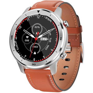 SmartWatch Garett MEN 5S Orange Leather