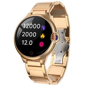 SmartWatch Garett KAREN Golden Steel