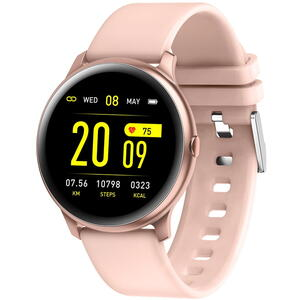 SmartWatch Garett LAURA Golden/Pink