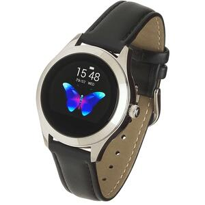 SmartWatch Garett NAOMI Black Leather