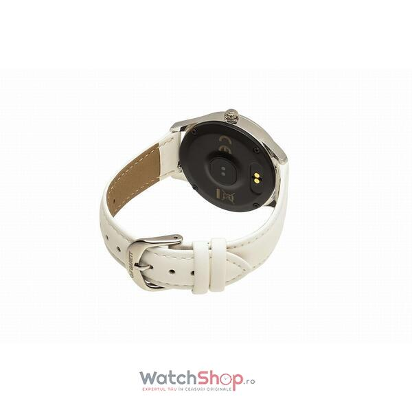SmartWatch Garett NAOMI White Leather
