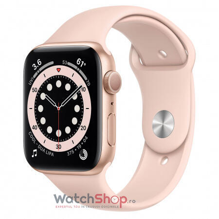 SmartWatch Apple S6 GPS Gold Pink Sand, 44 mm