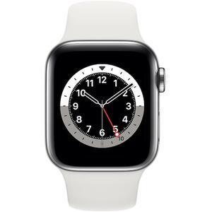 SmartWatch Apple S6 GPS + Cellular Silver Stainless Steel, 40 mm