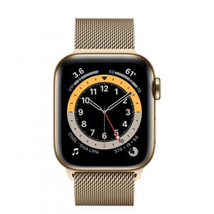 SmartWatch Apple S6 GPS + Cellular, Gold Stainless Steel, 40 mm