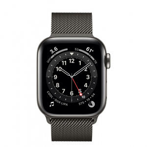 SmartWatch Apple S6 GPS + Cellular, Graphite Stainless Steel, 40 mm