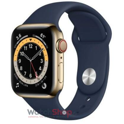 SmartWatch Apple S6 GPS + Cellular,Gold Stainless Steel, 44 mm