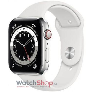 SmartWatch Apple S6 GPS + Cellular,Silver Stainless Steel, 44 mm