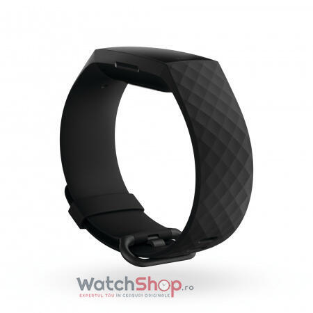 SmartWatch CHARGE 4 (NFC) w integrated GPS  FitbitPay - Black