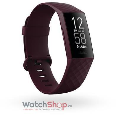 SmartWatch CHARGE 4 (NFC)  w integrated GPS  FitbitPay - Rosewood