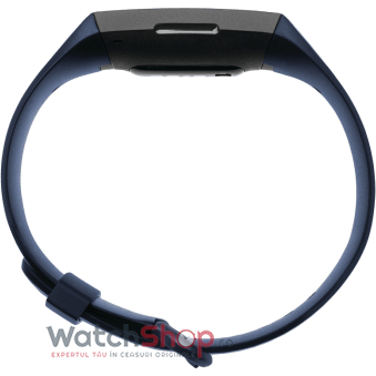 SmartWatch CHARGE 4 (NFC) w integrated GPS  FitbitPay - Storm Blue / Black