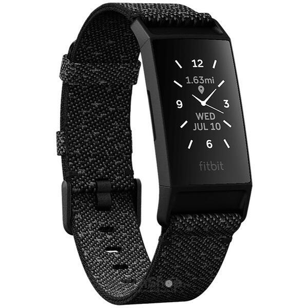 SmartWatch CHARGE 4 Special Edition (NFC) Granite w integrated GPS  FitbitPay - Black