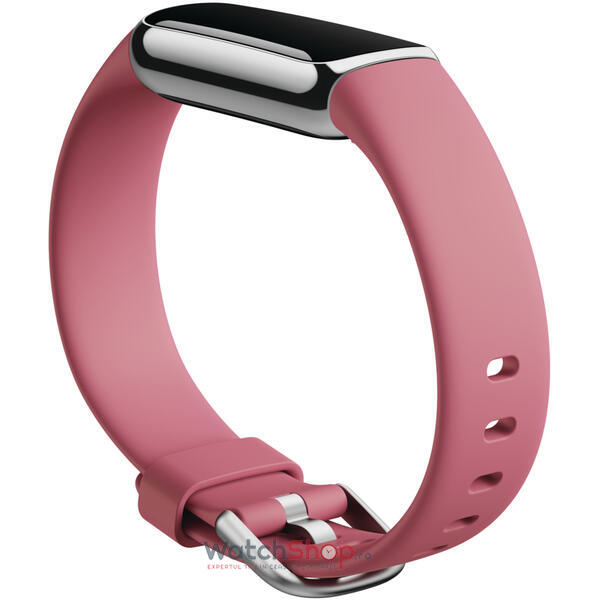 SmartWatch Fitbit LUXE - Platinum/Orchid