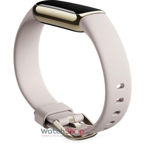 SmartWatch Fitbit LUXE - Soft Gold/White