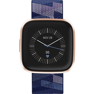 SmartWatch Fitbit VERSA 2 Special Edition (NFC) - Navy  Pink Woven