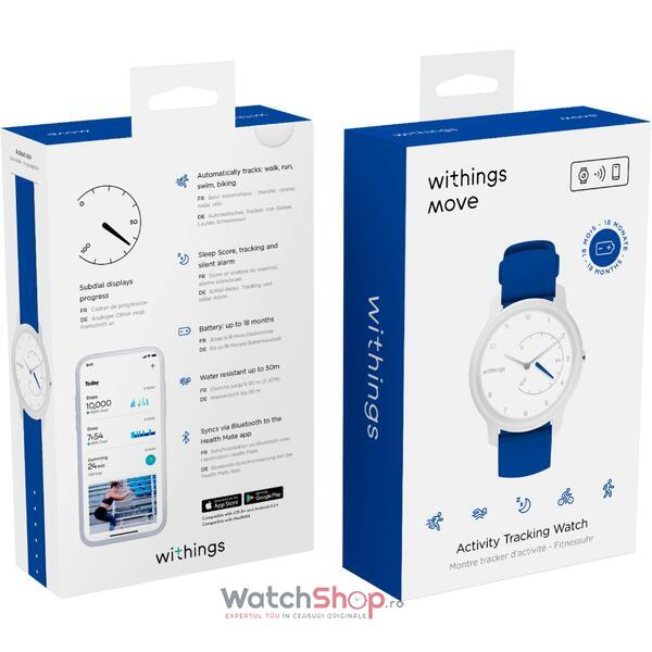 SmartWatch Withings Move ECG  White & Blue HWA06-model 4-all