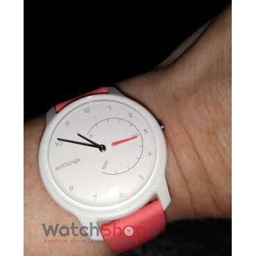 SmartWatch Withings Move ECG  White & Coral HWA06-model 5-all