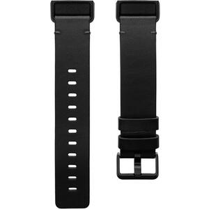 Curea (bratara) ceas Fitbit Charge 4 Leather Band Black Small