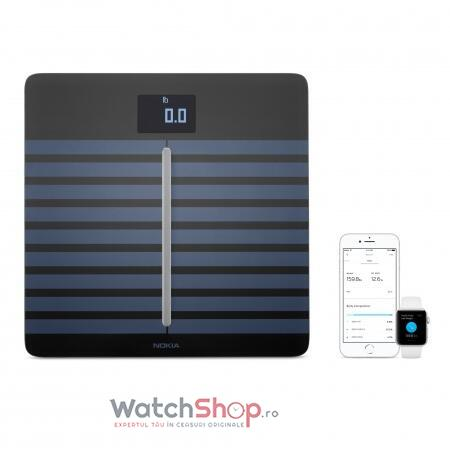 Withings BODY CARDIO Full Body Composition WiFi Scale - Black (Cantar corporal)