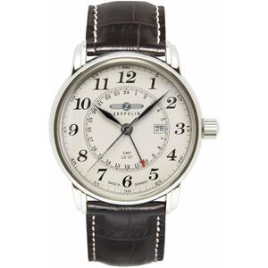 Ceas LZ127 COUNT ZEPPELIN 7642-5 Dual Time