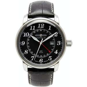 Ceas LZ127 COUNT ZEPPELIN 7642-2 Dual Time