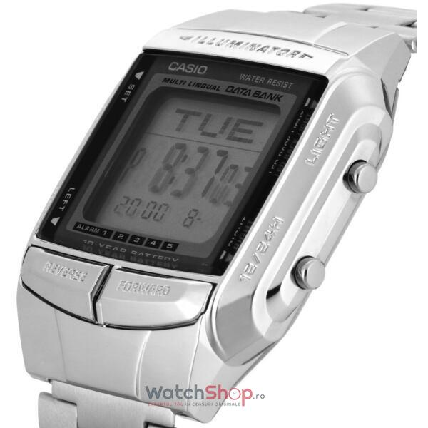 Ceas Casio DATA BANK DB-360N-1A Baterie 10 ani