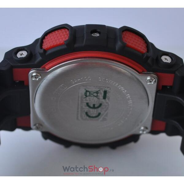 Ceas Casio G-SHOCK GA-100-1A4ER Antimagnetic