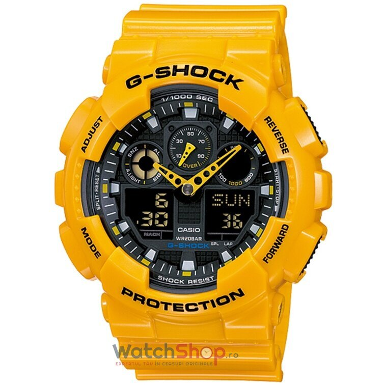 Ceas Casio G-SHOCK GA-100A-9AER Antimagnetic