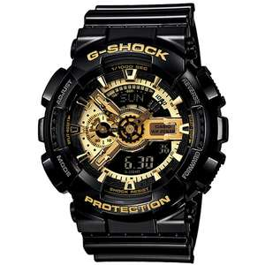 Ceas Casio G-SHOCK GA-110GB-1AER GARISH BLACK COLLECTION Antimagnetic