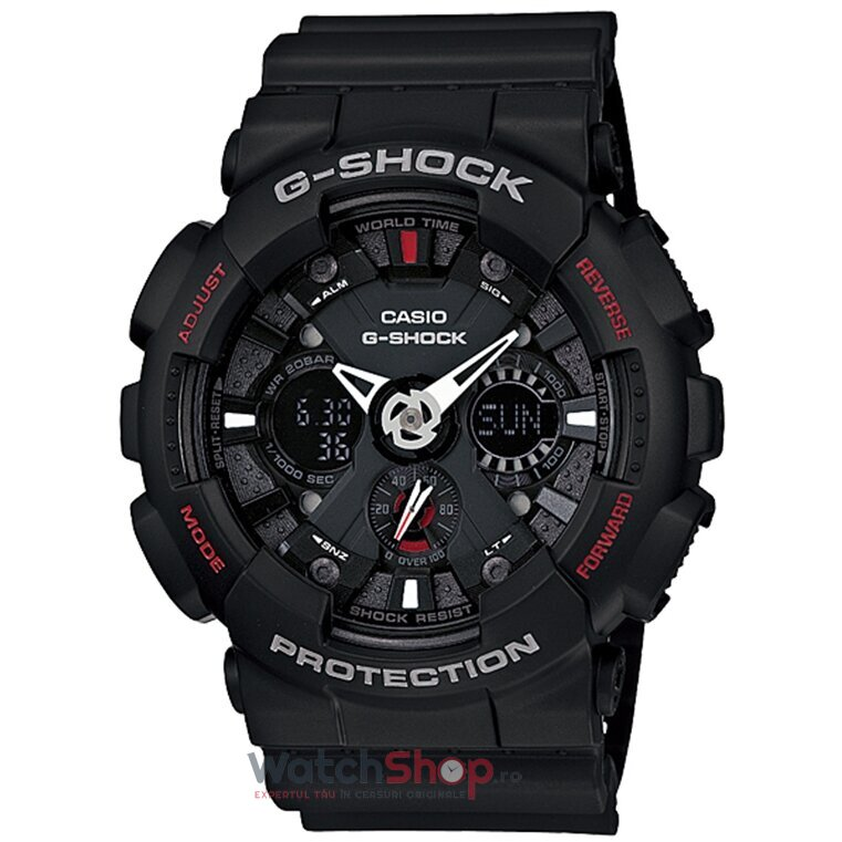 Ceas Casio G-SHOCK GA-120-1AER Antimagnetic Motorcycle