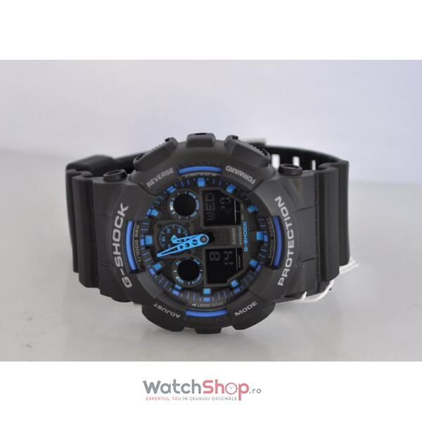 Ceas Casio G-SHOCK GA-100-1A2 Antimagnetic