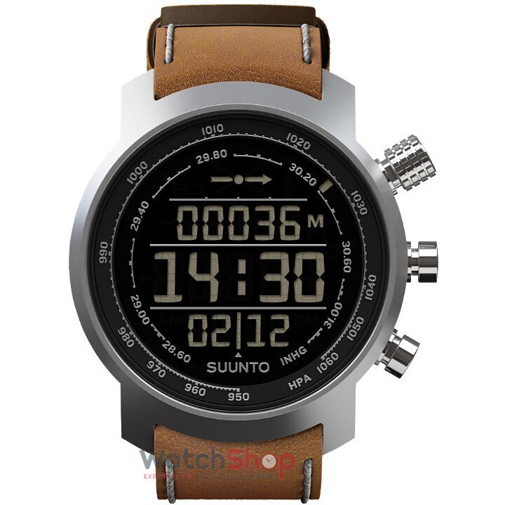 Ceas Suunto ELEMENTUM TERRA BROWN LEATHER