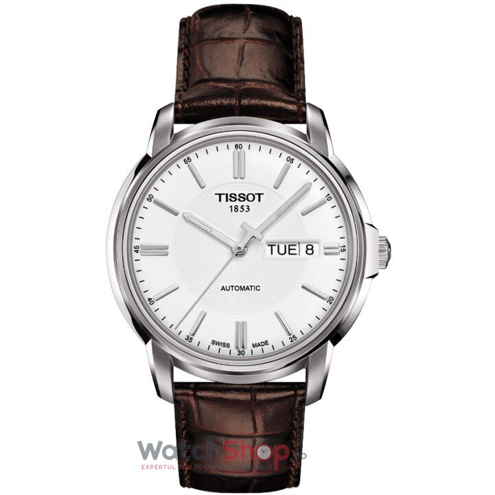 Ceas T-CLASSIC T065.430.16.031.00 Automatic III White
