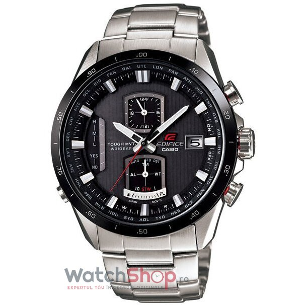 Ceas Casio EDIFICE EQW-A1110DB-1AVEF Waveceptor Tough Solar Smart Acces