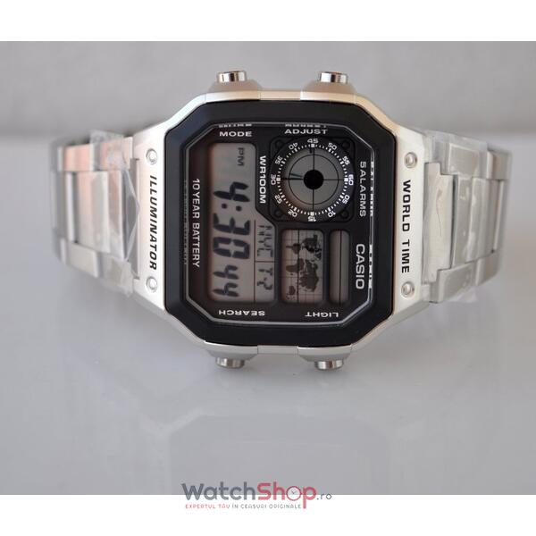 Ceas Casio SPORT AE-1200WHD-1AVEF World time Baterie 10 ani