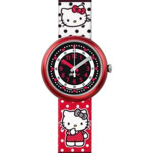 Ceas Flik Flak HELLO KITTY ZFLN058