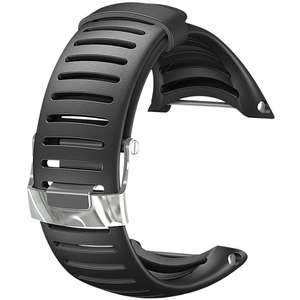 Curea (bratara) Suunto CORE LIGHT ELASTOMER STRAP BLACK SS013337000