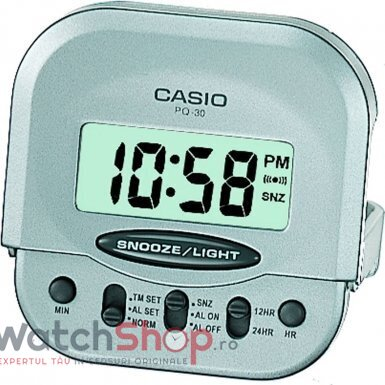 Ceas de birou Casio WAKE UP TIMER PQ-30-8EF